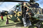 PENDARATAN HELICOPTER di PADANG ILSAS bersama MD DatoAziz