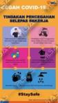 Poster Tindakan Pencegahan Selepas Bekerja